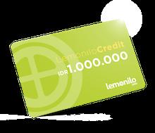 Lemonilo Credit IDR 1.000.000