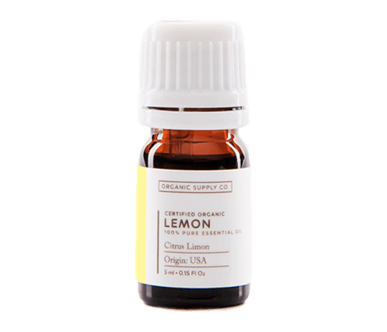 Organic Supply Lemon Essential Oil 10 ml