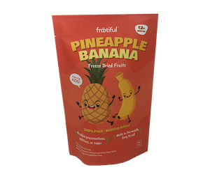 Frootiful Freeze-Dried Pineapple Banana 10 gr