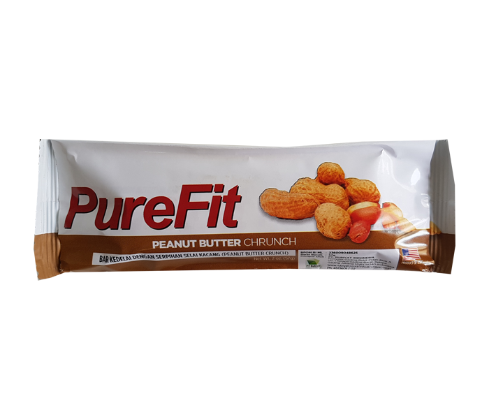 PureFit Peanut Butter Crunch Bars
