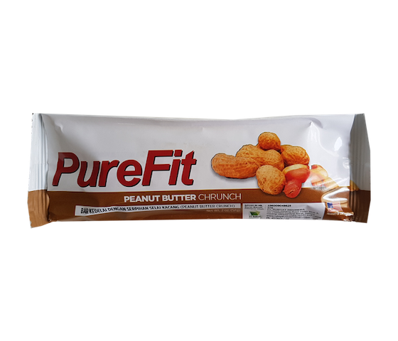 PureFit Peanut Butter Crunch Bars