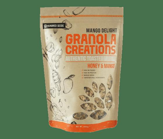 Granola Creations Granola Mangga & Madu Mango Delights 480 gr