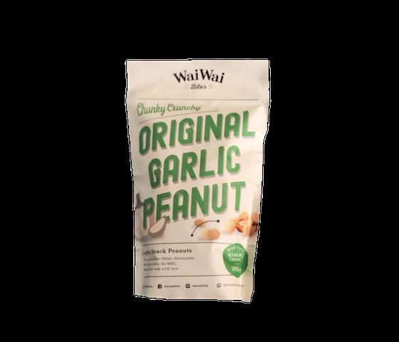 Wai Wai Bites Chunky Crunchy Original Garlic Peanut 200 gr