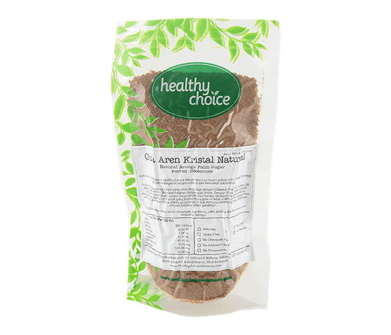 Healthy Choice Gula Aren Kristal Natural 250 gr