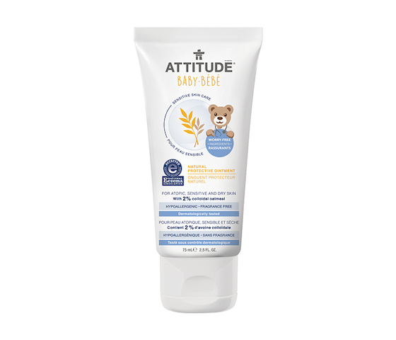 Attitude Baby-Bebe Sensitive Skin Natural Protective Ointment 75 ml