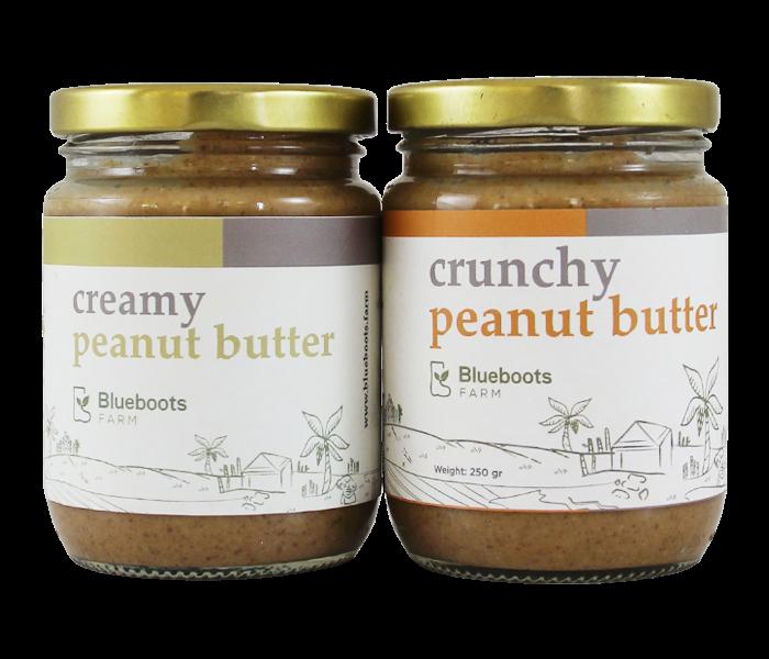 Blueboots Paket Selai Kacang Crunchy-Creamy
