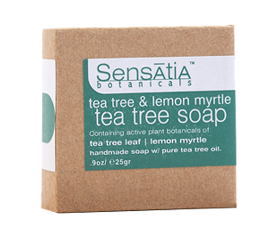 Sensatia Bar Soap Tea Tree & Lemon Myrtle 25gr
