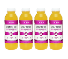 Acaii Pack of 4 Extra Fit C1000 (4 x 500 ml)