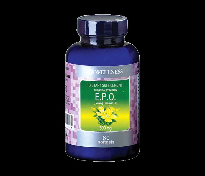 Wellness E.P.O 500 mg 60 Kapsul