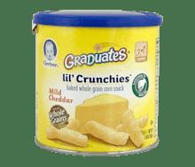 Gerber Graduates Lil' Crunchies Biskuit Keju Cheddar
