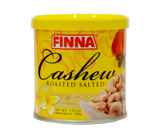 FINNA Cashew Roasted Salted 100 gr