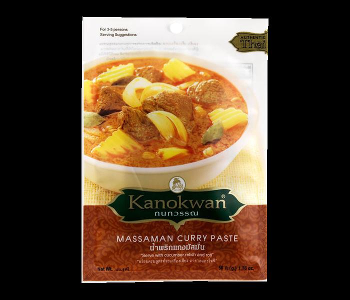 Kanokwan Massaman Curry Paste 50 gr