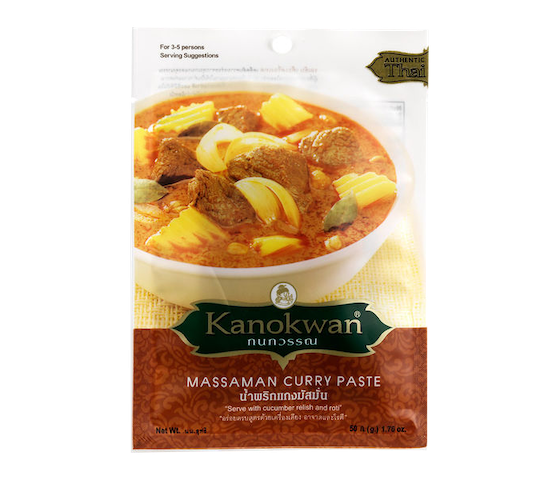 Kanokwan Massaman Curry Paste 50 gr