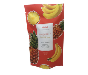 Frootiful Freeze-Dried Pineapple Banana 20 gr
