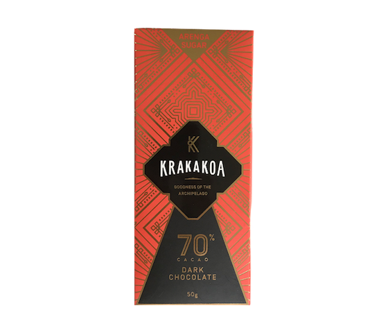 Krakakoa 70% Cacao Dark Chocolate 50 gr