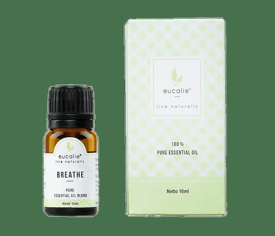 Eucalie Breathe Pure Essential Oil Blend 10 ml