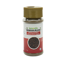 Lemonilo Rempah Alami Lada Hitam Bubuk (Ground Black Pepper) 50 gr