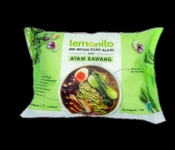 [Pre Order] [3 MG] Lemonilo Mie Kuah Instan Alami Rasa Ayam Bawang