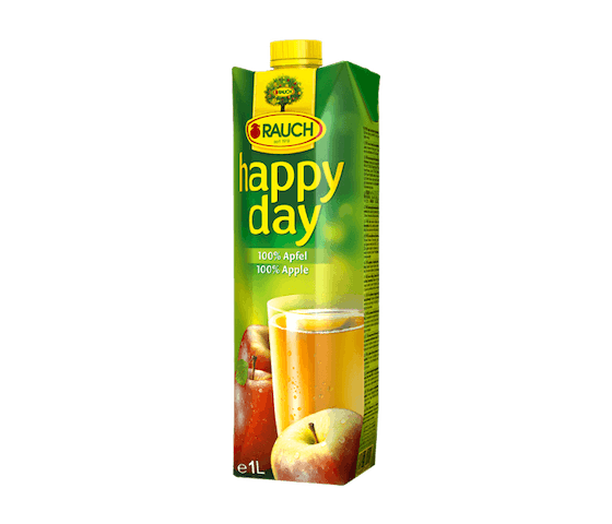 Rauch Happy Day Apple Fruit Juice 1 L