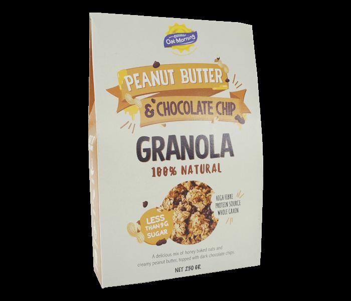 Jual Oat Morning Granola Kacang & Choco Chips hanya di Lemonilo.com