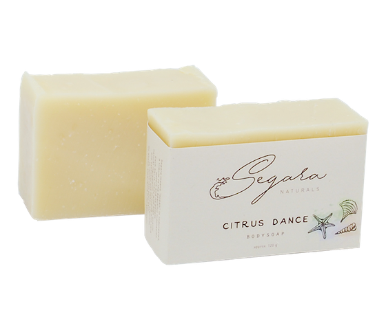 Segara Naturals Citrus Dance Body Soap 120 gr