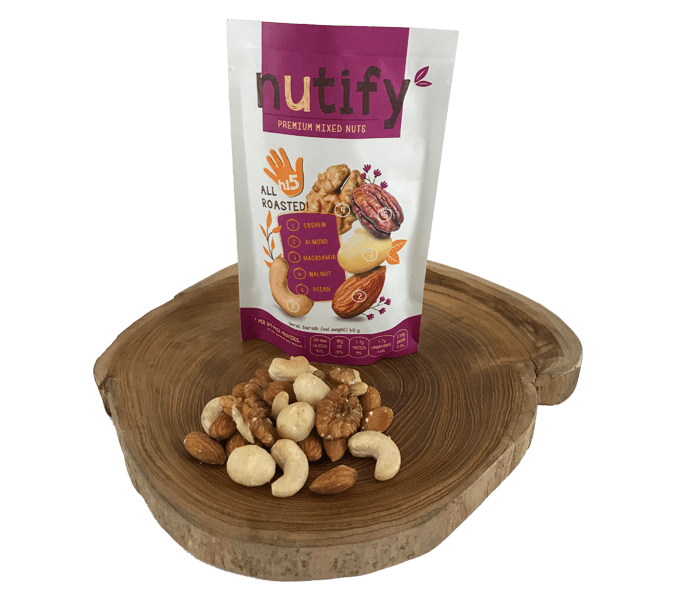 Nutify Gourmet All Roasted Hi5 Mix