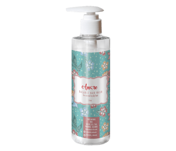 Amore Balance Hair Wash for Normal to Oily Hair 250 ml