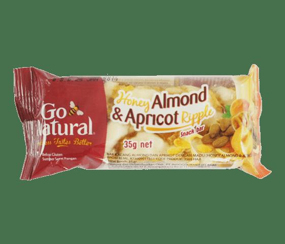 Go Natural Bar Almond Aprikot Madu