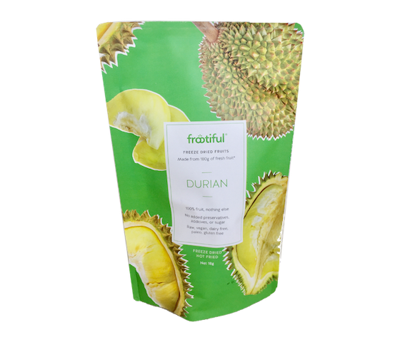 Frootiful Freeze-Dried Fruits Durian 18 gr