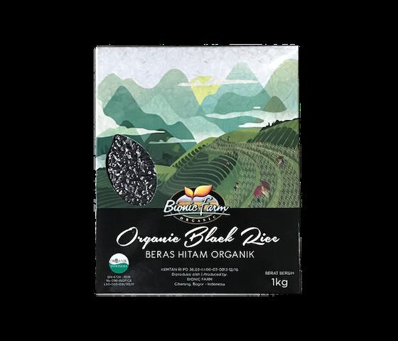 Bionic Farm Organic Black Rice (Beras Hitam Organik) 1 Kg
