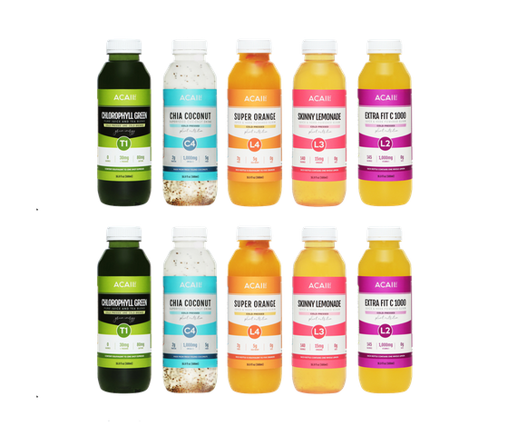 Acaii Happy Heart Pack (10 x 500 ml)