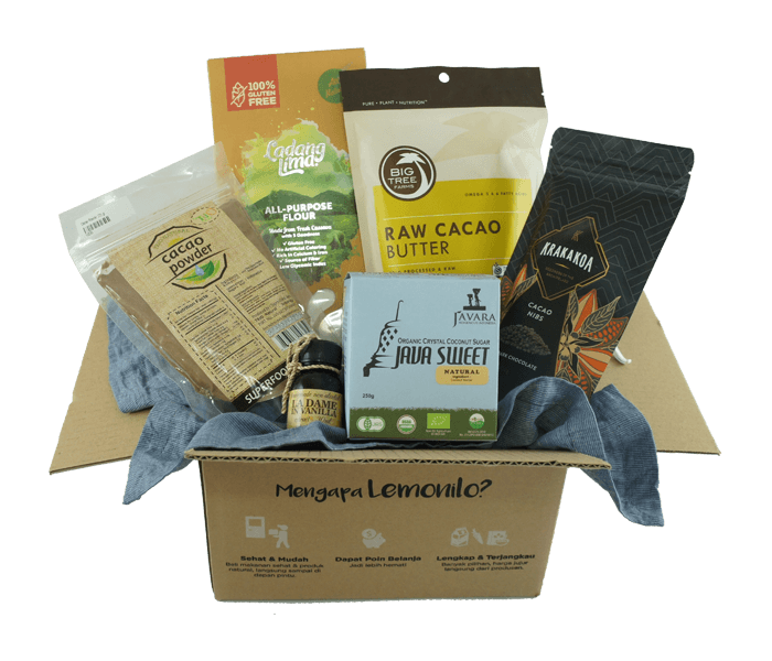 Jual LemoniloBox Paket Baking Bebas Gluten hanya di Lemonilo.com