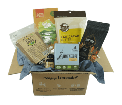 LemoniloBox Paket Baking Bebas Gluten