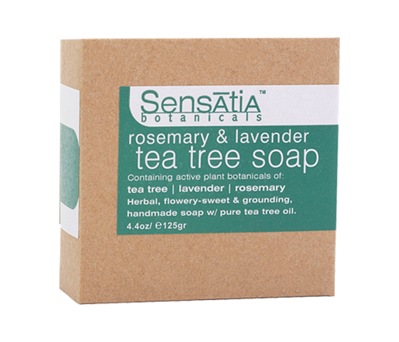 Sensatia Bar Soap Tea Tree Rosemary & Lavender 125gr