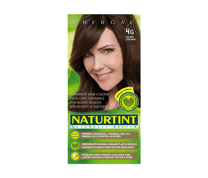 Naturtint Permanent Hair Color 4G (Golden Chestnut)