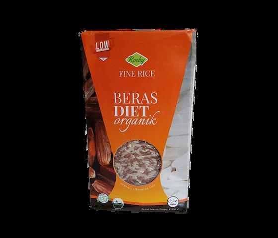 Roeby Fine Rice Beras Diet Organik 1 Kg