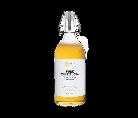Raw+ Organic Multiflora Raw Honey 700gr