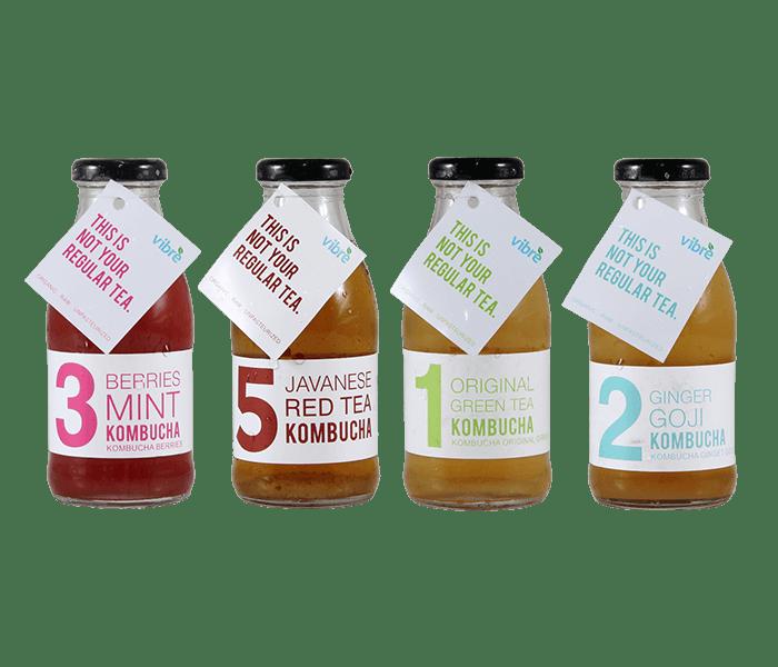 Vibre Kombucha Tea Happy Package