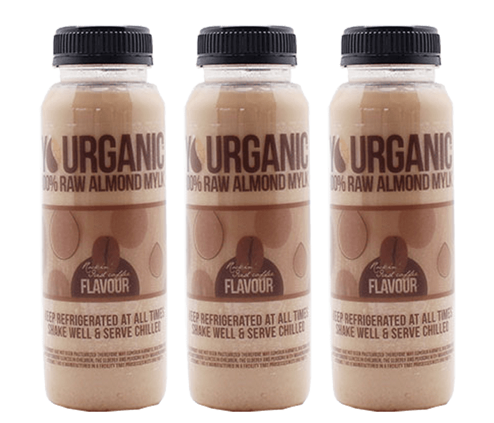 Yourganic Raw Almond Mylk Rockin Iced Coffee 250 ml Pack of 3