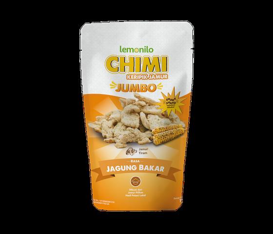 Lemonilo Chimi (Chips Alami) Keripik Jamur Rasa Jagung Bakar