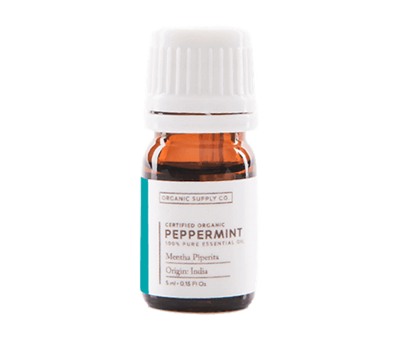 Organic Supply Peppermint Essential Oil 10 ml