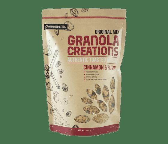 Granola Creations Granola Original Kayu Manis & Kismis 400 gr