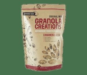 Granola Creations Granola Original Kayu Manis & Kismis 480 gr