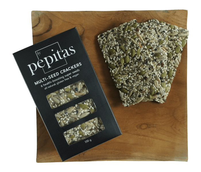 Pepitas Cracker Biji-Bijian Rosemary