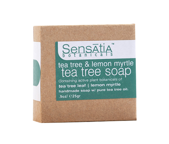Sensatia Botanicals Tea Tree & Lemon Myrtle Tea Tree Soap 25 gr
