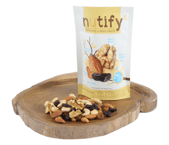Nutify Mixed Nuts & Dried Fruits 24/7 Mix