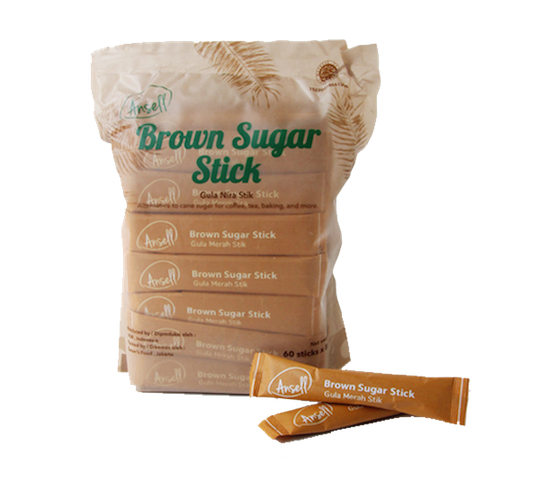 Healthy Farm Ansell Brown Sugar Stick (60 x 8 gr)