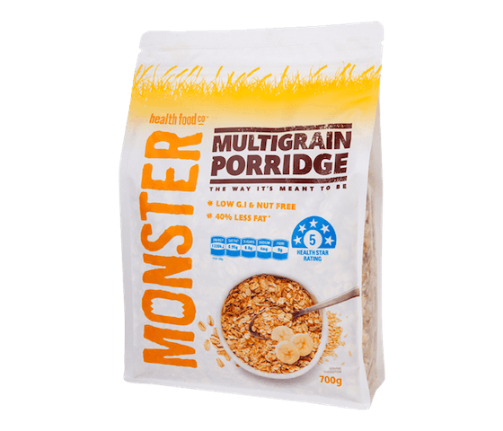 Monster Multigrain Porridge
