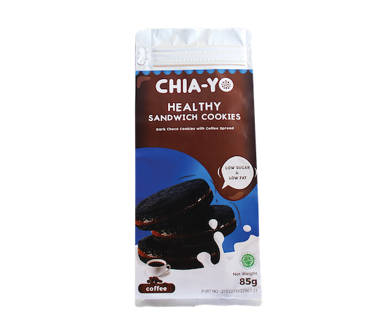 Chia-Yo Healthy Sandwich Cookies Coffee 85 gr