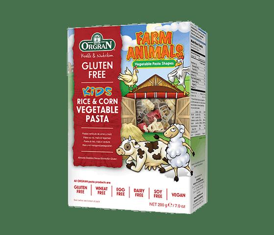 Orgran Kids Pasta Sayuran Beras & Jagung Bebas Gluten
